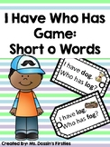 Short O I Have Who Has Phonics Game