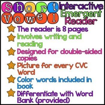 Short O Interactive Emergent Reader