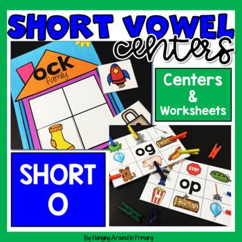 Short O Literacy Centers