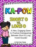 Short O & Long O (VCe) Kapow Literacy Center / Game