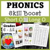 Short O / Long O:  Phonics for Older Students