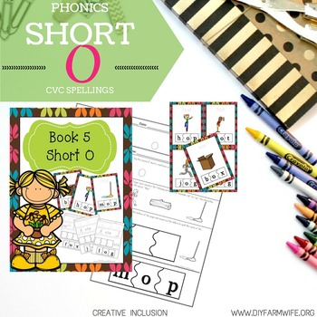 Short O Phonics for Special Education