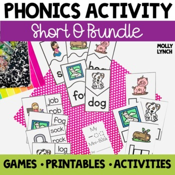 Short O Phonics Activities