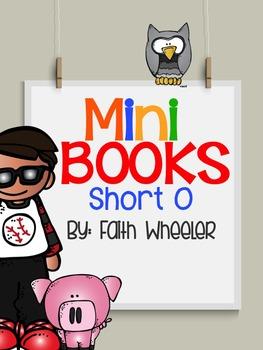 Short O Phonics Mini Books