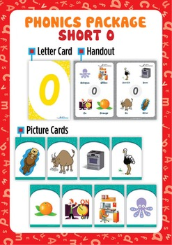 Short 'O' Phonics Resource Package