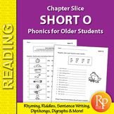 Short O: Phonics for Older Students