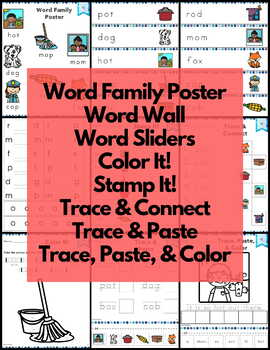CVC Short O Word Work and Activities