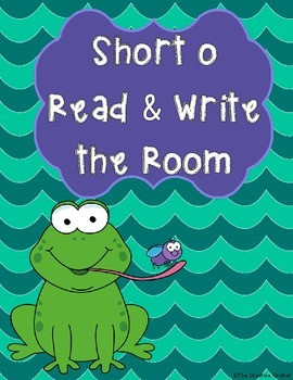 Short O Read and Write the Room / Word Sort