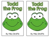 Short O Reader: Todd the Frog