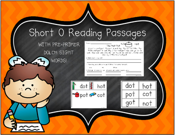 Short Vowel O Reading Passages