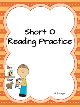 "Short ""O"" Reading Practice"