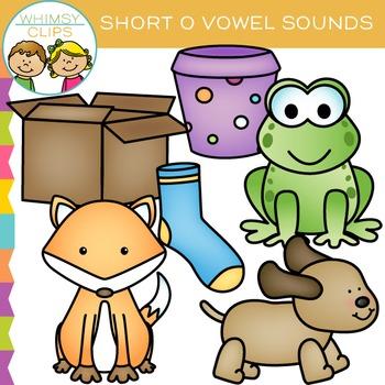 Short O Vowel Clip Art