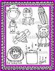Short Vowel O Clipart CVC {Confetti and Creativity Clipart}