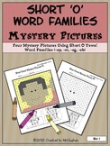 Short 'O' Vowel Word Families Mystery Pictures