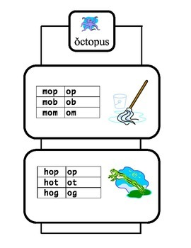 Short O Vowel Workbook