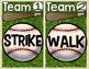 Short O Word Family Baseball