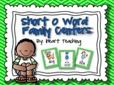 """Short Vowel """"O"""" Word Family Centers {Common Core Aligned}"""