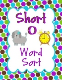 Short O Word Family Sort, CVC words and more