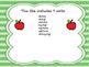 Short Vowel Word Family Sorts- O