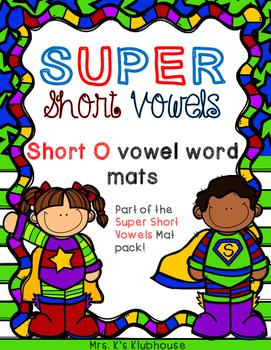 Short O Word Mats