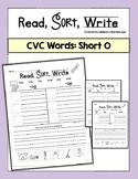 Short Vowel Worksheets O Word Sort
