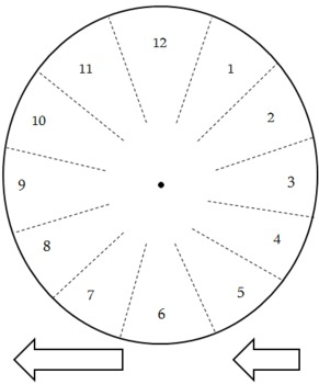 Short O Word Work: The -ock Word Family Clock Project