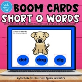 Short O Words Boom Cards / Digital Task Cards / Distance Learning