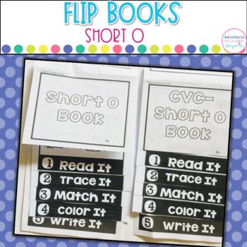 Short O Words- Flip Book