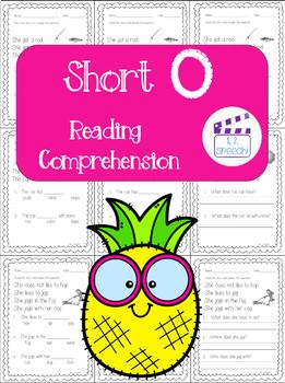 Short O Words Reading Comprehension