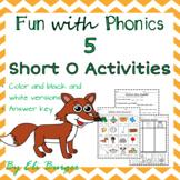 "Short ""O"" Worksheets - Fun with Phonics!"