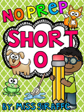 Short O Worksheets and Activities {NO PREP!}