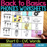 Short O Worksheets & Activities - Short O Word Work (No-Prep Phonics Worksheets)