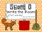 Short O Write the Room {CVC Words}