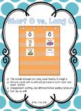 Short O vs. Long O - Picture Sort (Color & BW) - 5 Days!