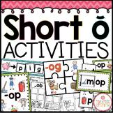 Phonics Short Oo Activities