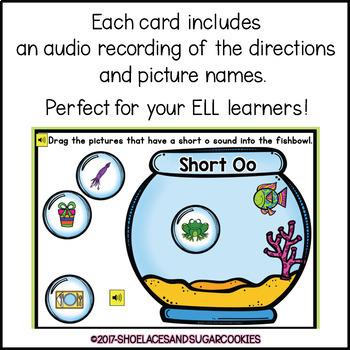 Short Oo Sort Boom Cards