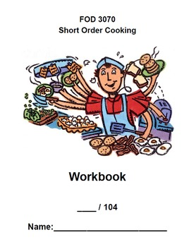 Short Order Cooking Text & Workbook package