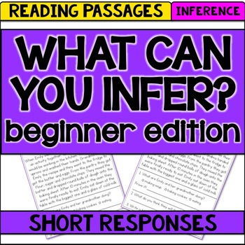 Reading Passages to Practice Inference {read, use evidence