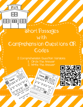 Short Passages with QR Codes