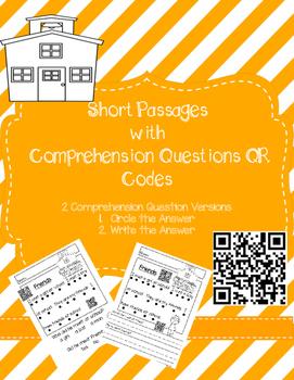 Short Passages with QR Codes