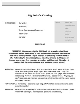 Short Play - Big John's Coming