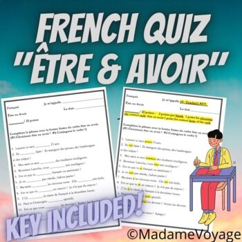 Short Quiz for Etre and Avoir