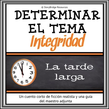 Reading Comprehension in Spanish-Determining Theme in a Short Story