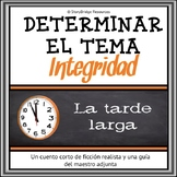 Reading Comprehension in Spanish-Determining Theme in a Sh