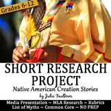 Short Research Project: Native American Creation Stories