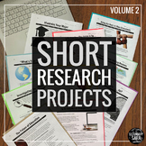 """Short Research Projects"" Ten-Project ELA Bundle: Volume II"