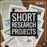 """Short Research Projects"" Ten-Project ELA Bundle: Volume II"