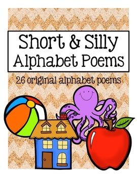 Short & Silly Alphabet Poems