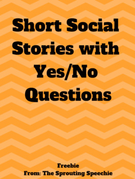 Short Social Stories with Yes/No Questions