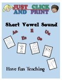 Short Sound of the Vowel Activities